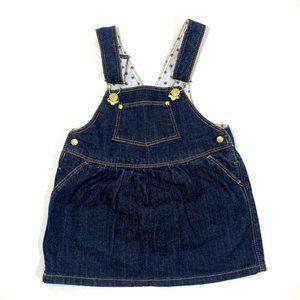 Petit Bateau Denim Jumper Dress